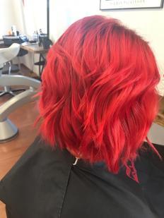 Rote Haar